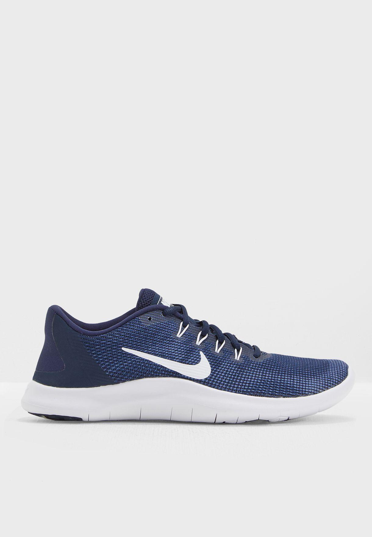 5a5b3a1a0d13 Shop Nike navy Flex 2018 RN AA7397-400 for Men in UAE - NI727SH44NOH