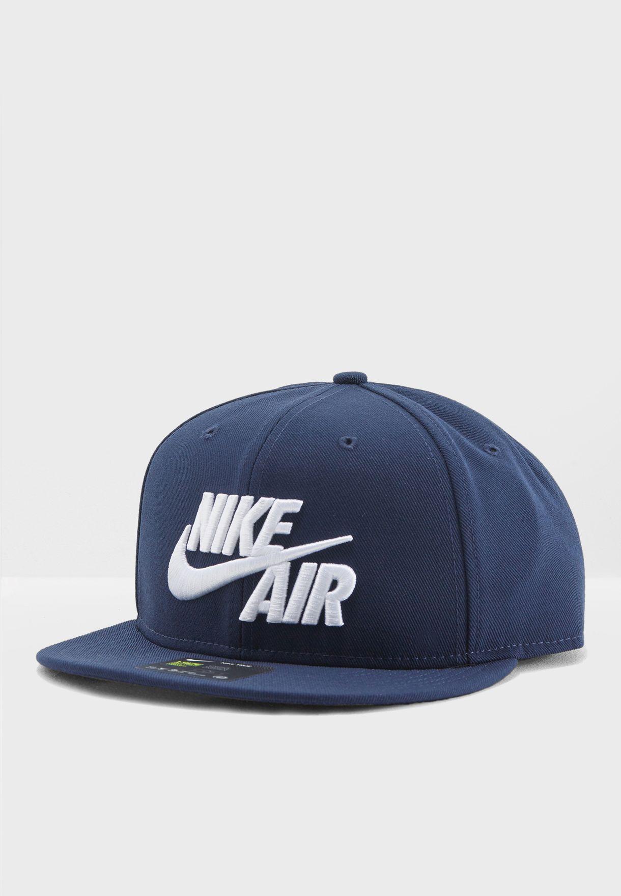 1d9744ca9b1f8 Shop Nike navy Classic Air Cap 805063-451 for Men in Saudi ...