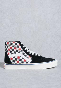 Sk8 Hi Checkers Sneakers