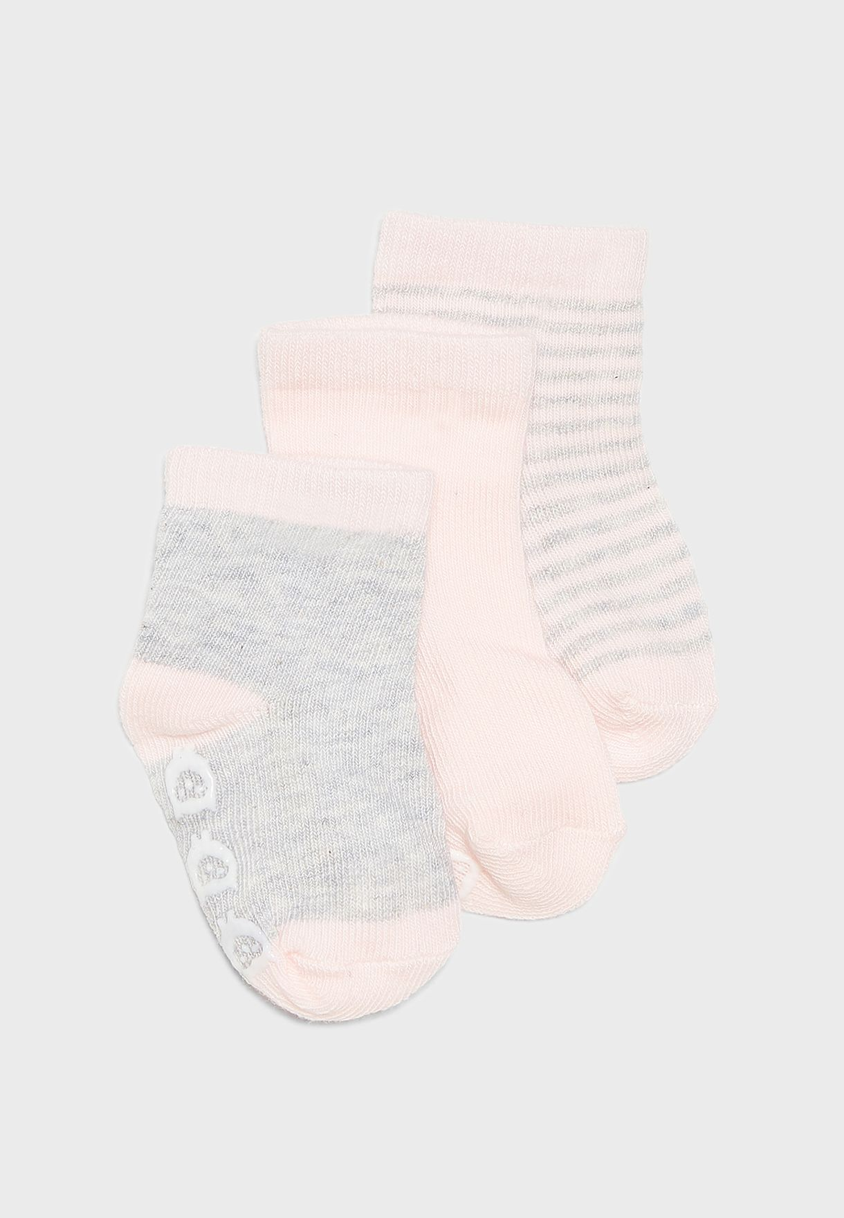 Infant 3 Pack Socks