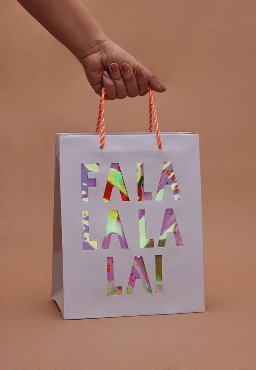 Christmas Falala Shaker Bag