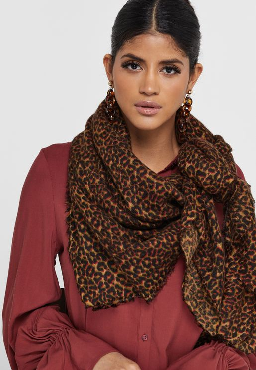 Silo Weaved Leo Scarf