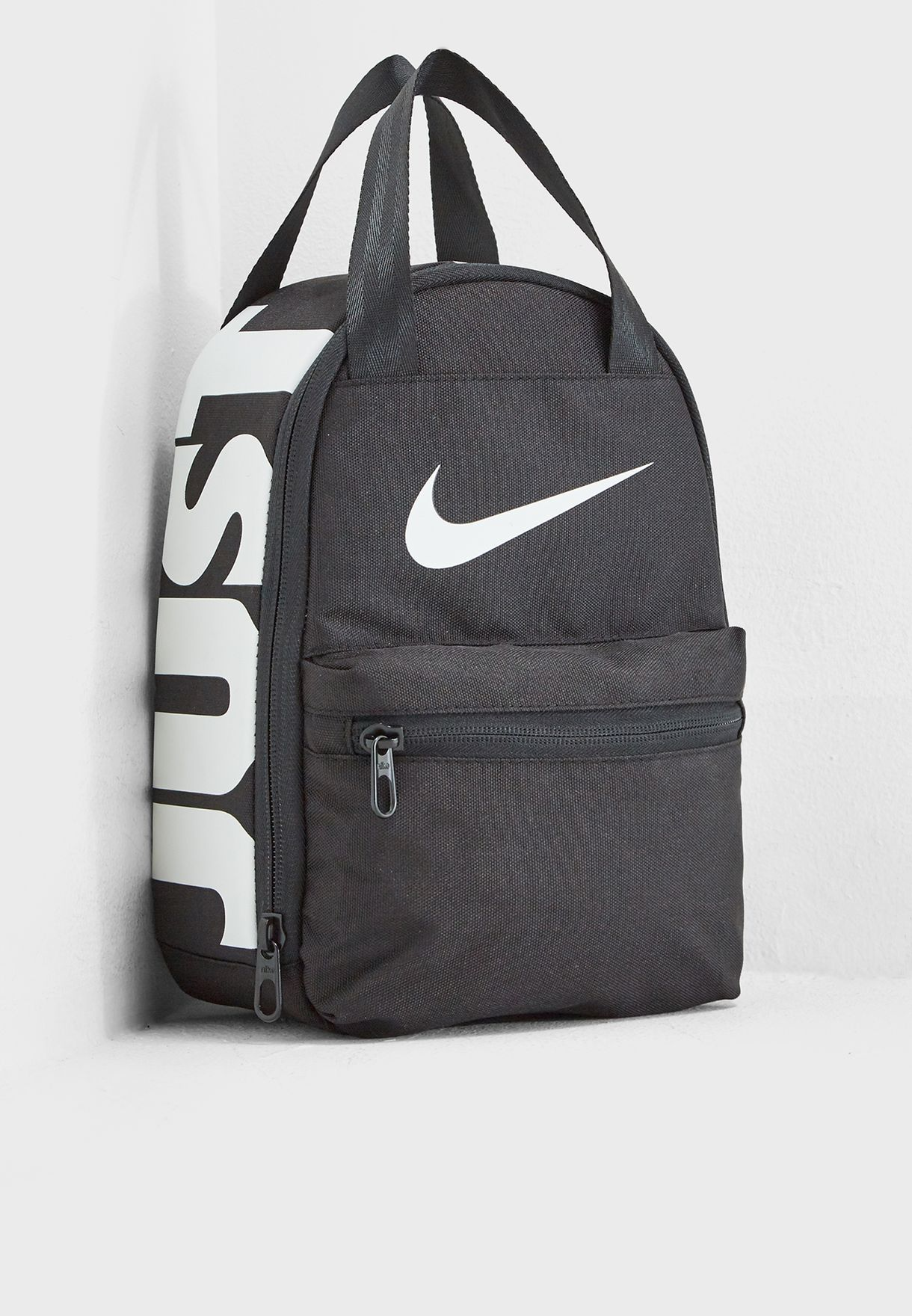 7bccb6f7e66a1 Shop Nike black Brasilia Just Do It Backpack 9A2743-023 for Kids in ...