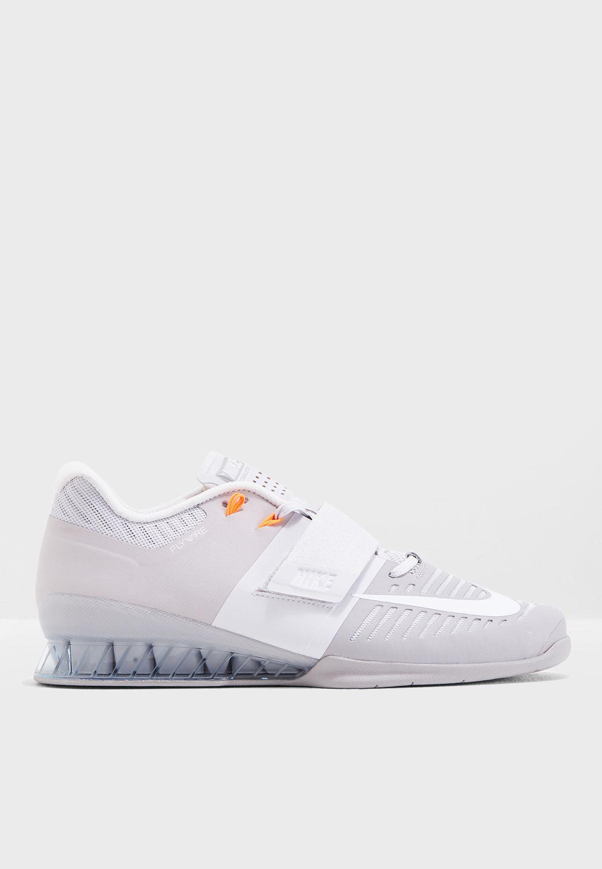 14e6fa34fe4e Shop Nike grey Romaleos 3 852933-010 for Men in UAE - NI727SH44FNN