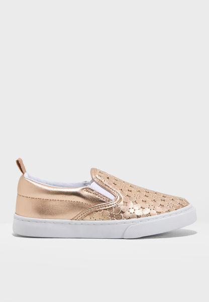 حذاء لامع سهل الارتداء