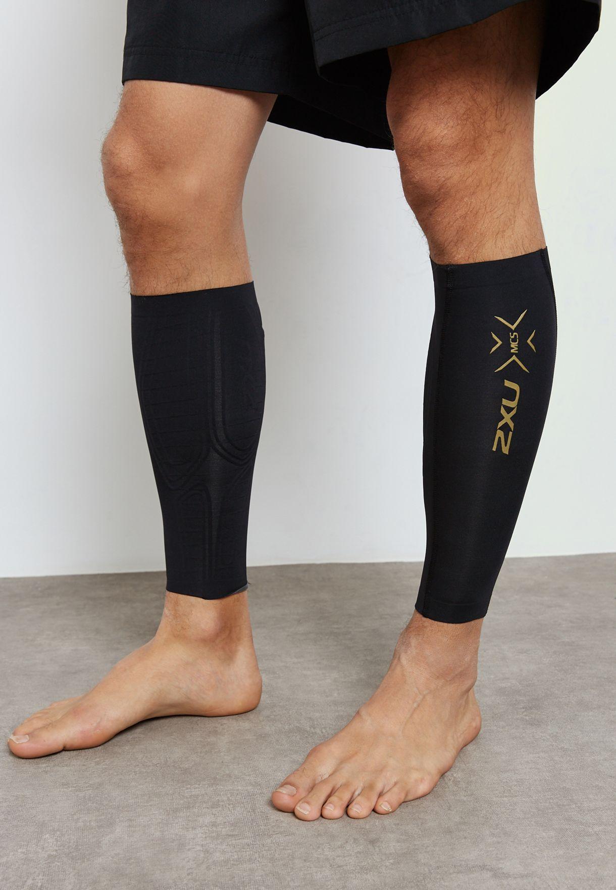 Buy 2xu Black Mcs Compression Calf Guards for Men in Mena, Worldwide,  Globally | 2X259AC44ZQX