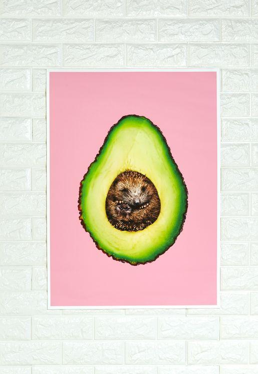 Avocado Artwork 50x70cm