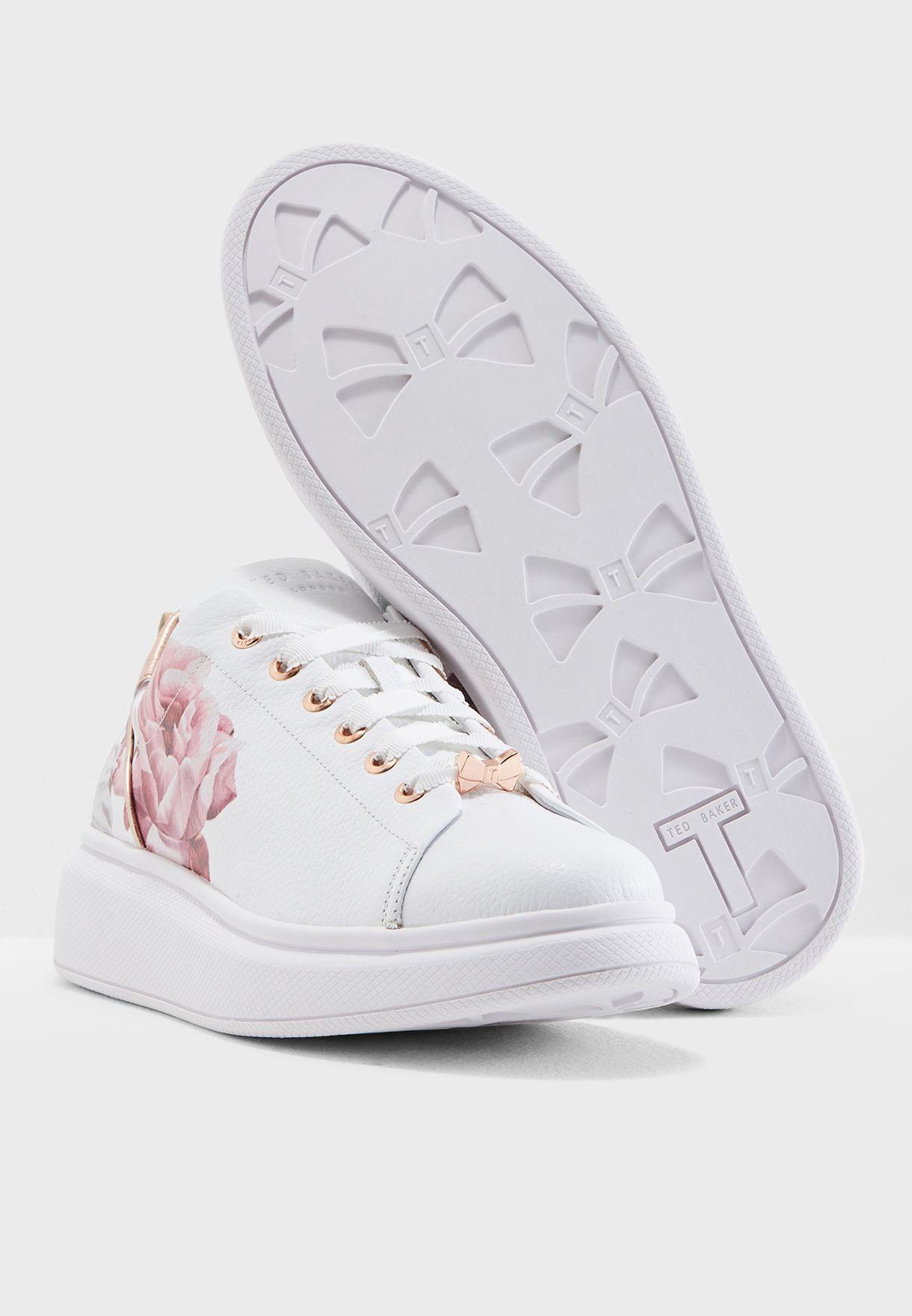 Buy Ted Baker white Ailbe 2 Sneaker for