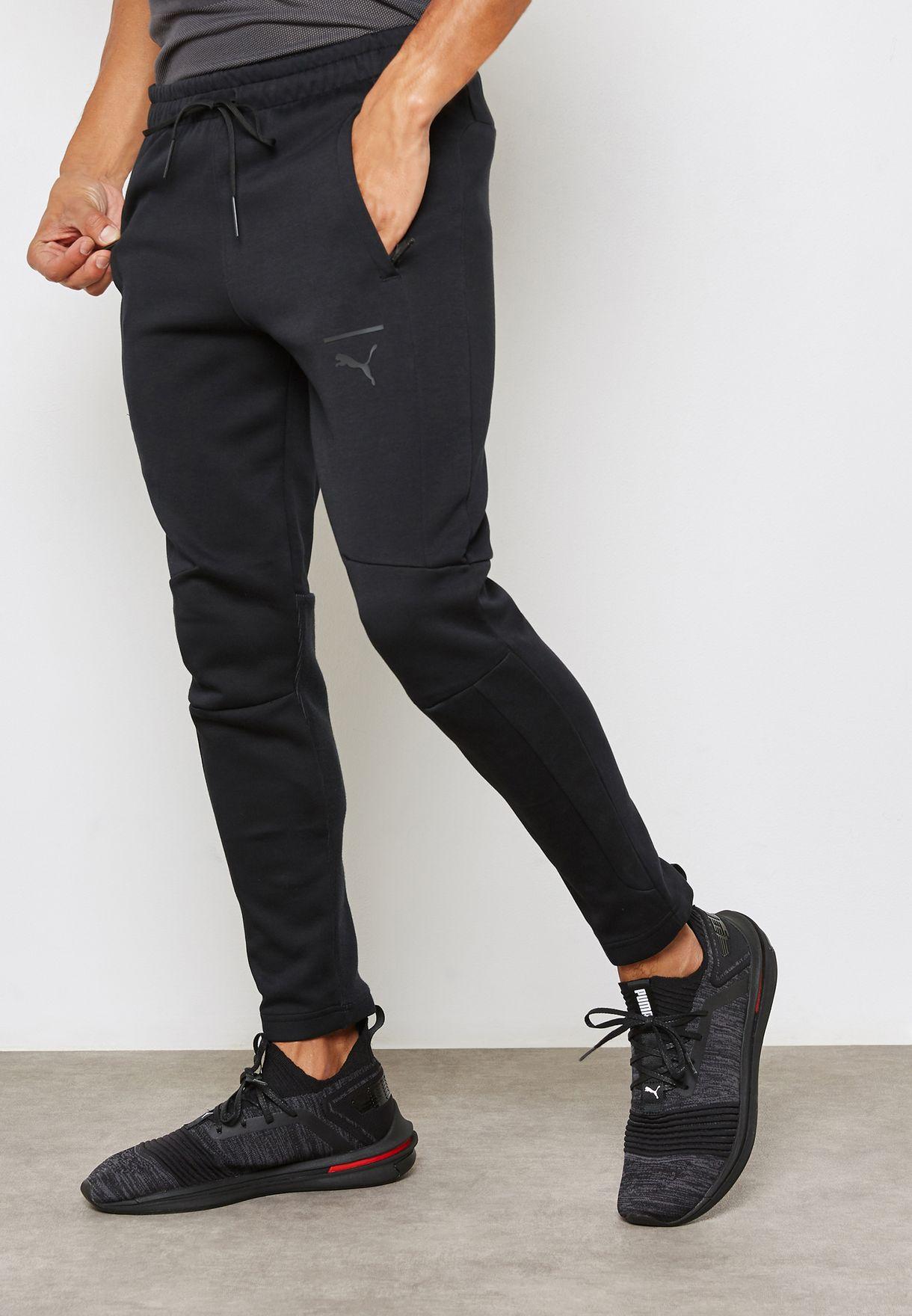 bd0c6ddd6571 Shop PUMA black Pace Primary Sweatpants 57505101 for Men in UAE ...