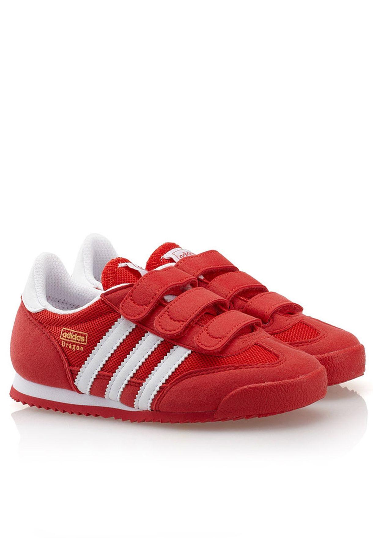 María Flecha Es decir  Buy Adidas Originals Red Dragon Cf C Sneakers for Kids in Mena, Worldwide,  Globally | AD476SH44THB