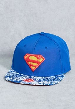Superman Mono-Pop Snapback