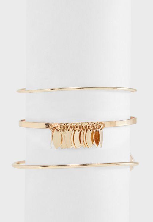Chambery Metal Bracelet Set