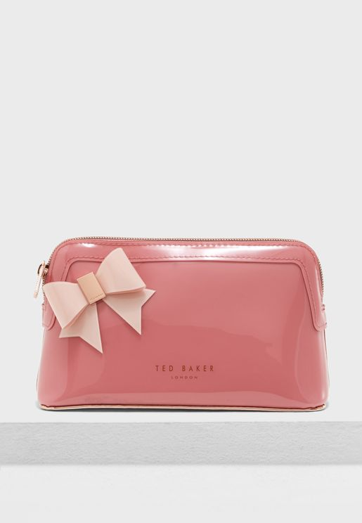 Ixoriaa Bow Makeup Bag