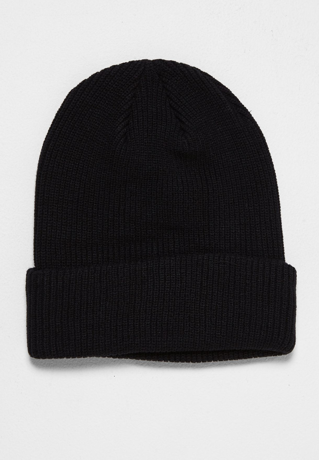 17f659909ec7 Shop Nike black Jordan Loose Gauge Cuff Beanie 861453-010 for Men in ...