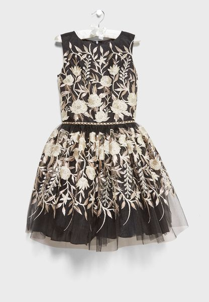 Teen Bloom Party Dress
