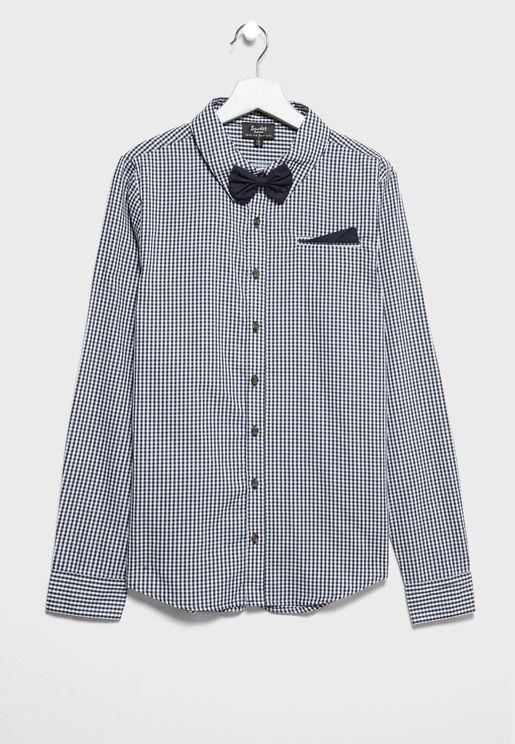Teen Gingham Shirt