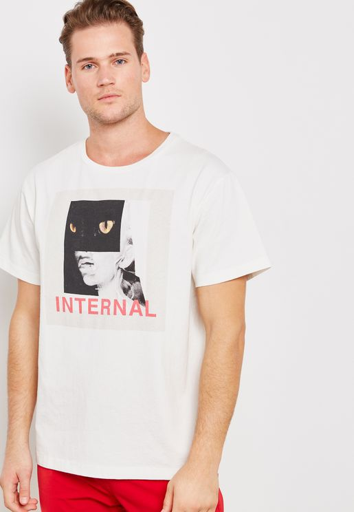 Internal Panther Graphic T-Shirt