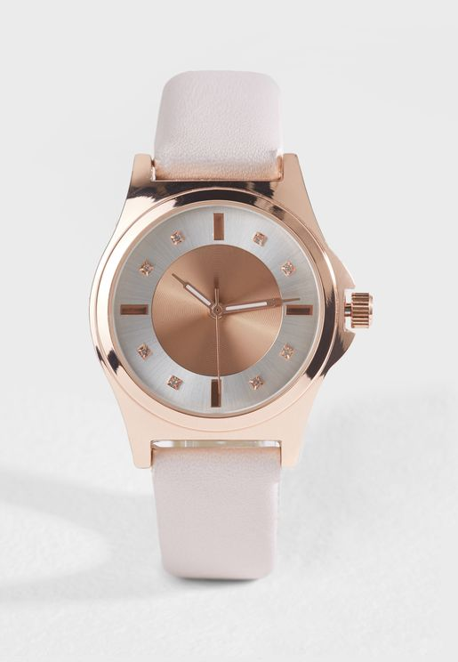 Two Tone Watch
