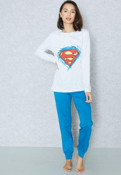 Superman Pyjama Set
