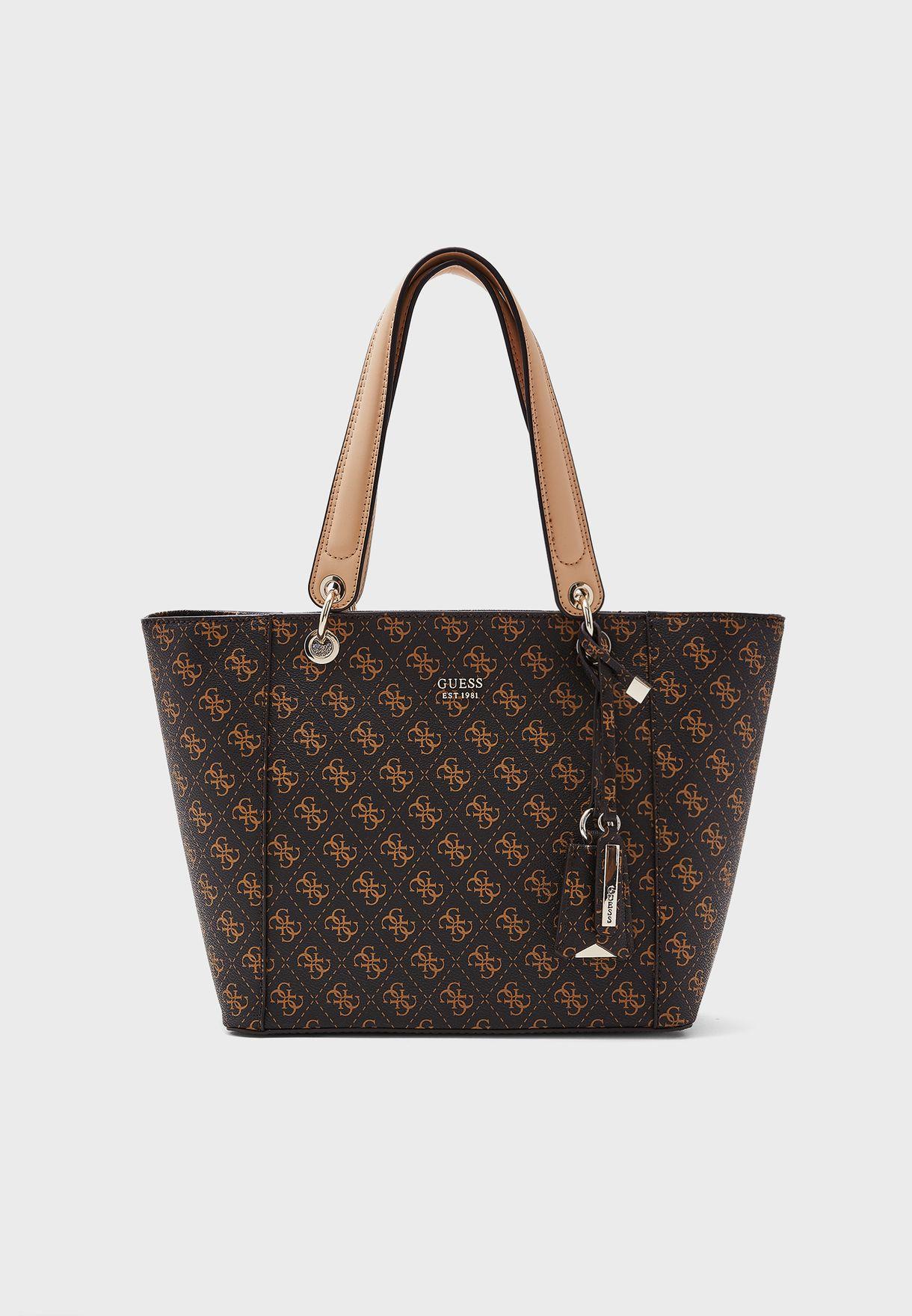 1478b1901b Shop Guess browns Kamryn Tote SG669123 for Women in Oman - GU094AC34CYZ