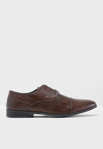 Ricci Embossed Derby Lace Ups