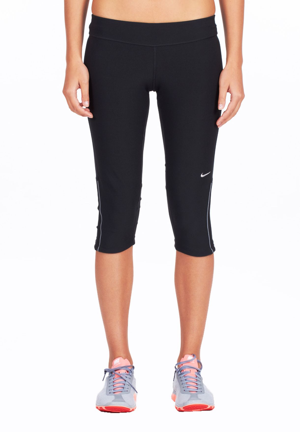 612af24ba631 Shop Nike black Filament Capri Bottoms 405334-010 for Women in UAE ...