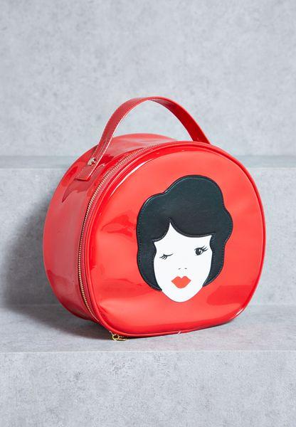 Vintage Lady Vanity Case