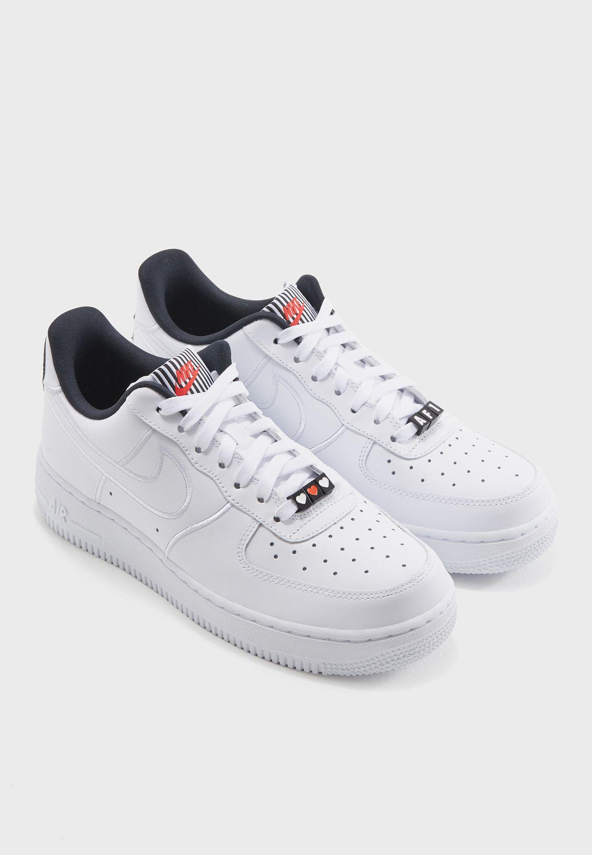 Nike white Air Force 1 \u0026#39;07 SE LX