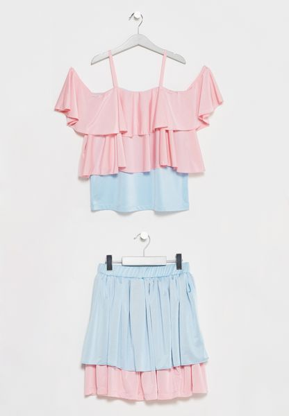 Little Top + Skirt Set