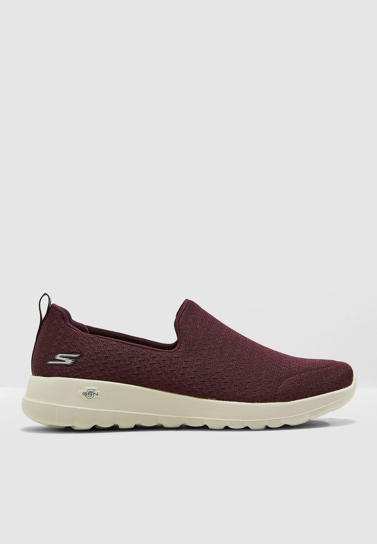 8fb4b7f450ef Shop Skechers burgundy Go Walk Joy 15635-BURG for Women in UAE ...