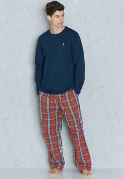 Polo Ralph Lauren Check Print Pyjama Set