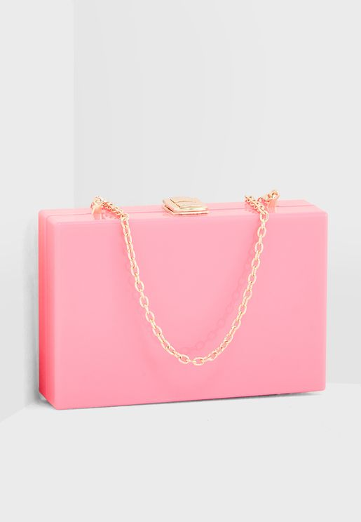 Plastic Square Crossbody