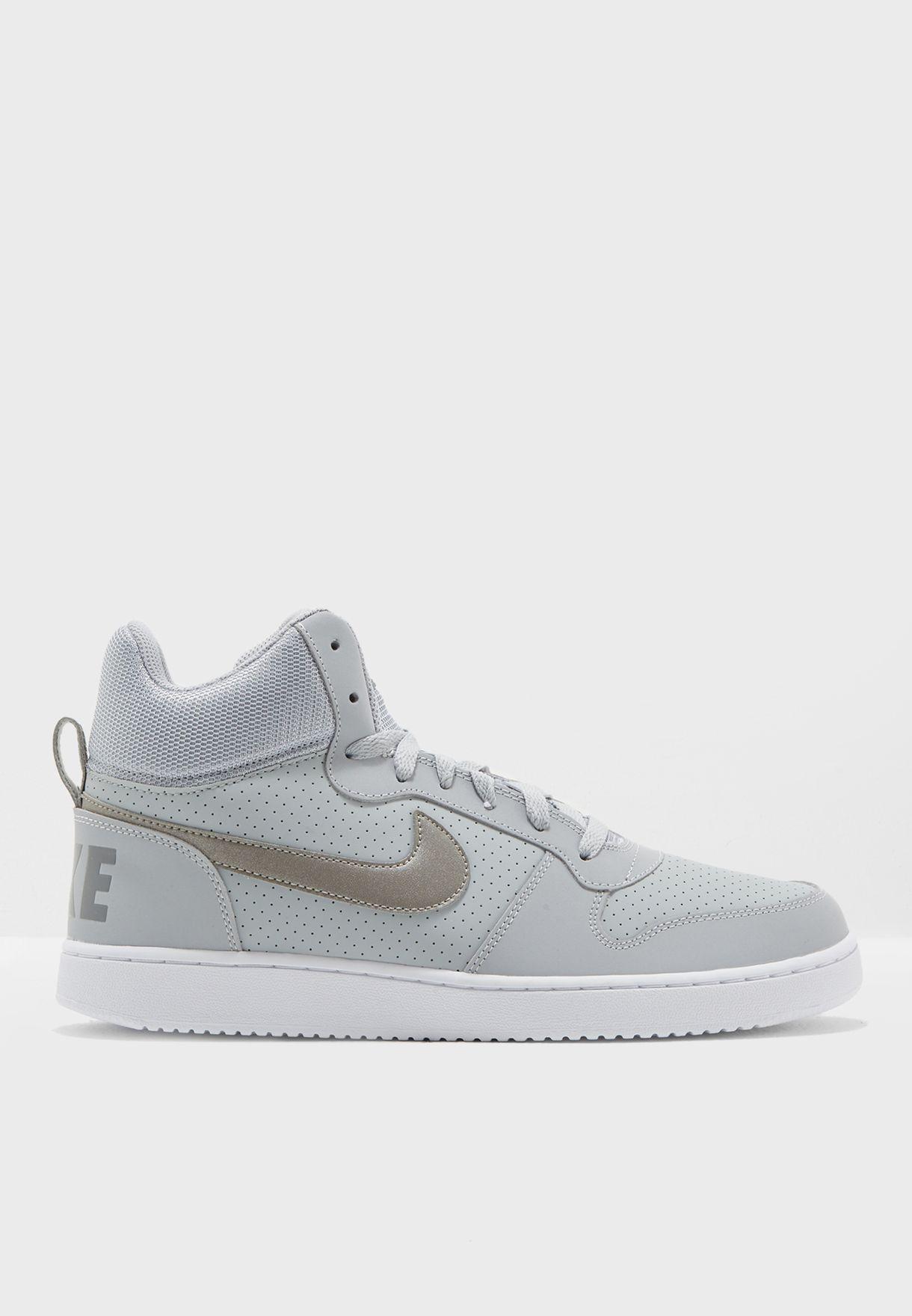 fac201059da5db Shop Nike grey Court Borough Mid 838938-004 for Men in Kuwait - NI727SH34QXH