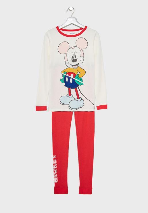Kids Mickey Mouse Pyjama Set