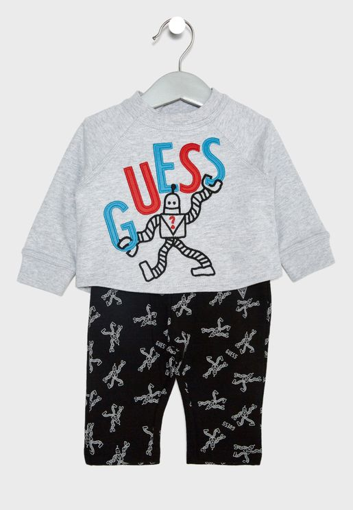 Infant Sweatshirt + Pants Set