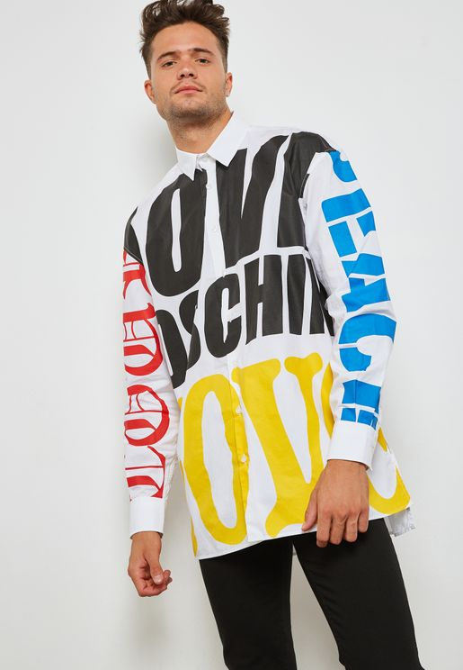 Graphic Logo Print Shirt