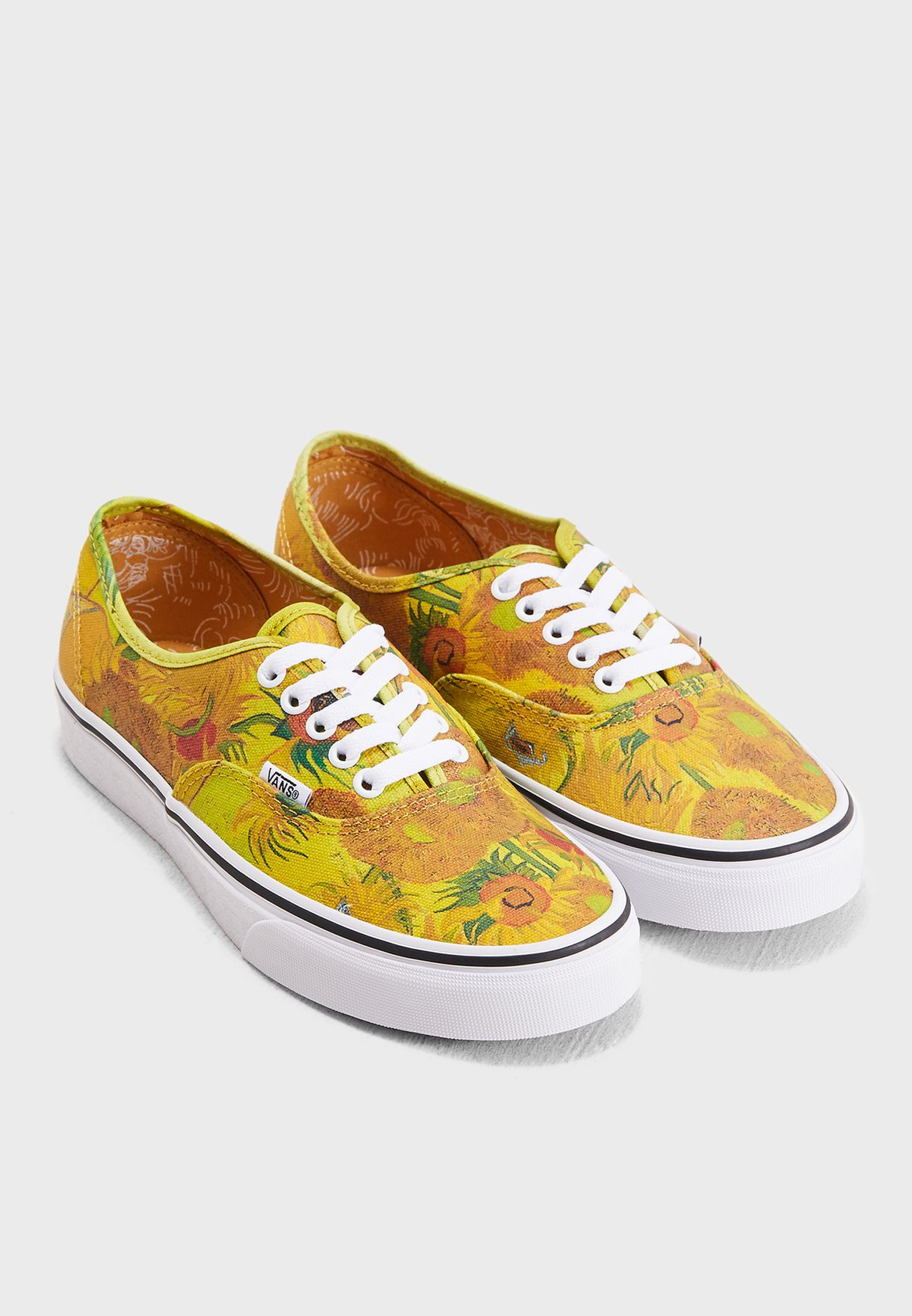 1737c7fc1483 Shop Vans yellow Vincent Van Gogh Authentic 8EMU3W for Women ...