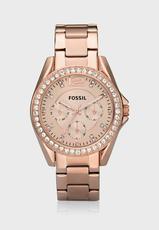 Riley Rose-Tone Watch