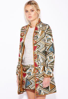 MANGO Jaquard Jacket