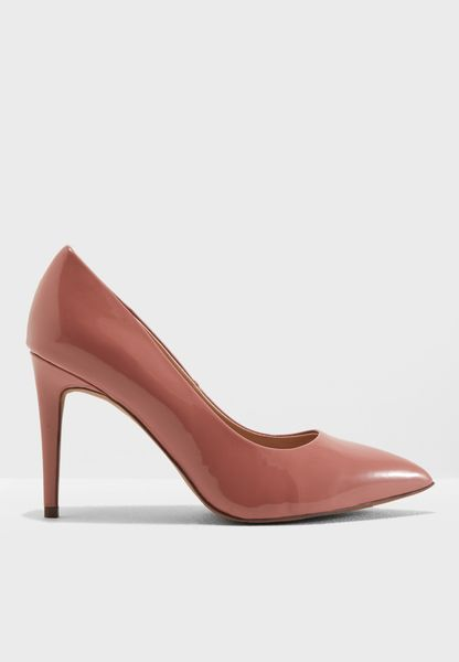 Wide Fit Emily Court Shoe
