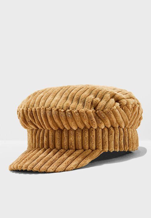 Ale Corduroy Baker Boy Hat