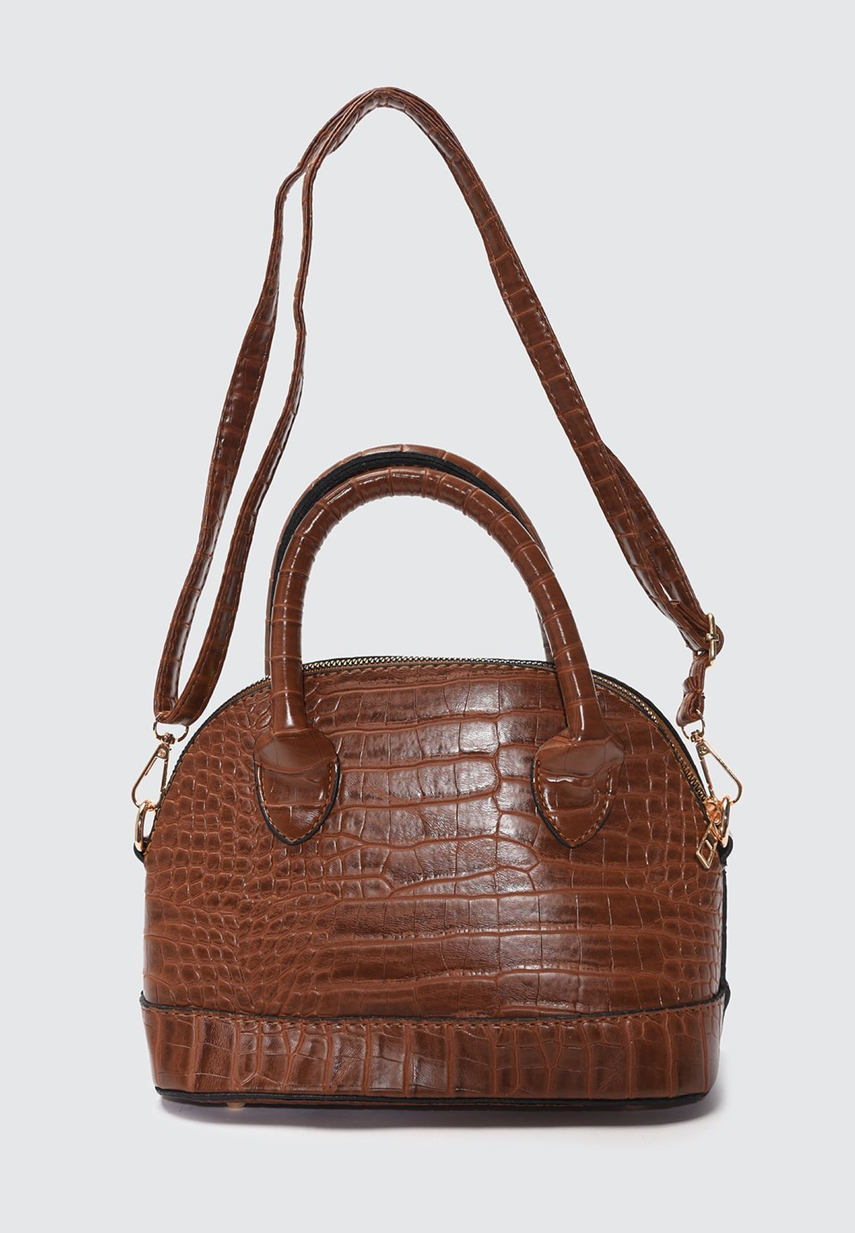 Printed Satchel Bag