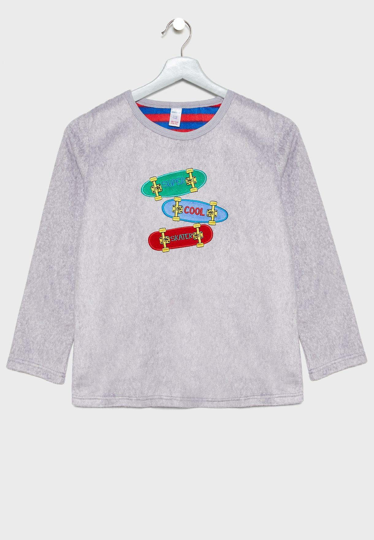 Kids Skateboard Pyjama Set