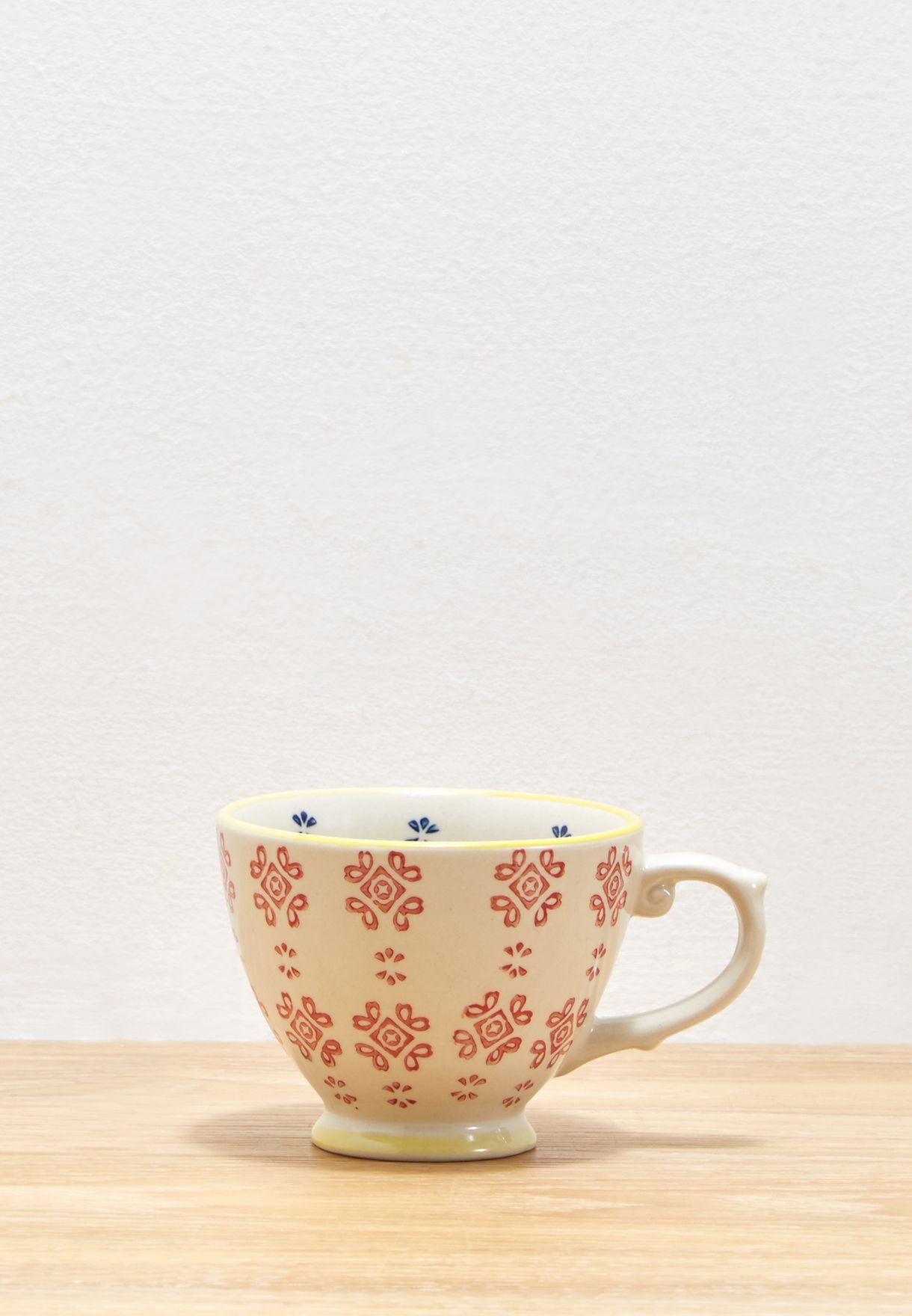 Moorish Medina Tile Tea Cup