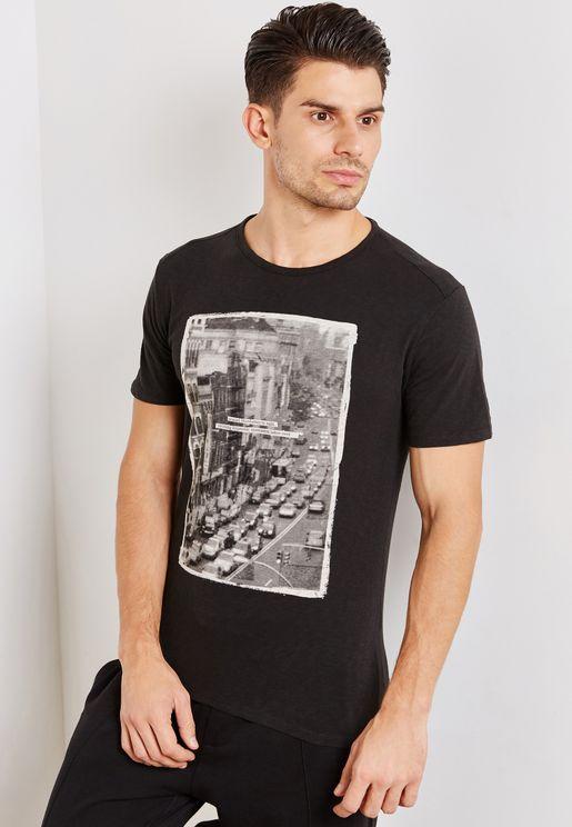 City Crew Neck T-Shirt