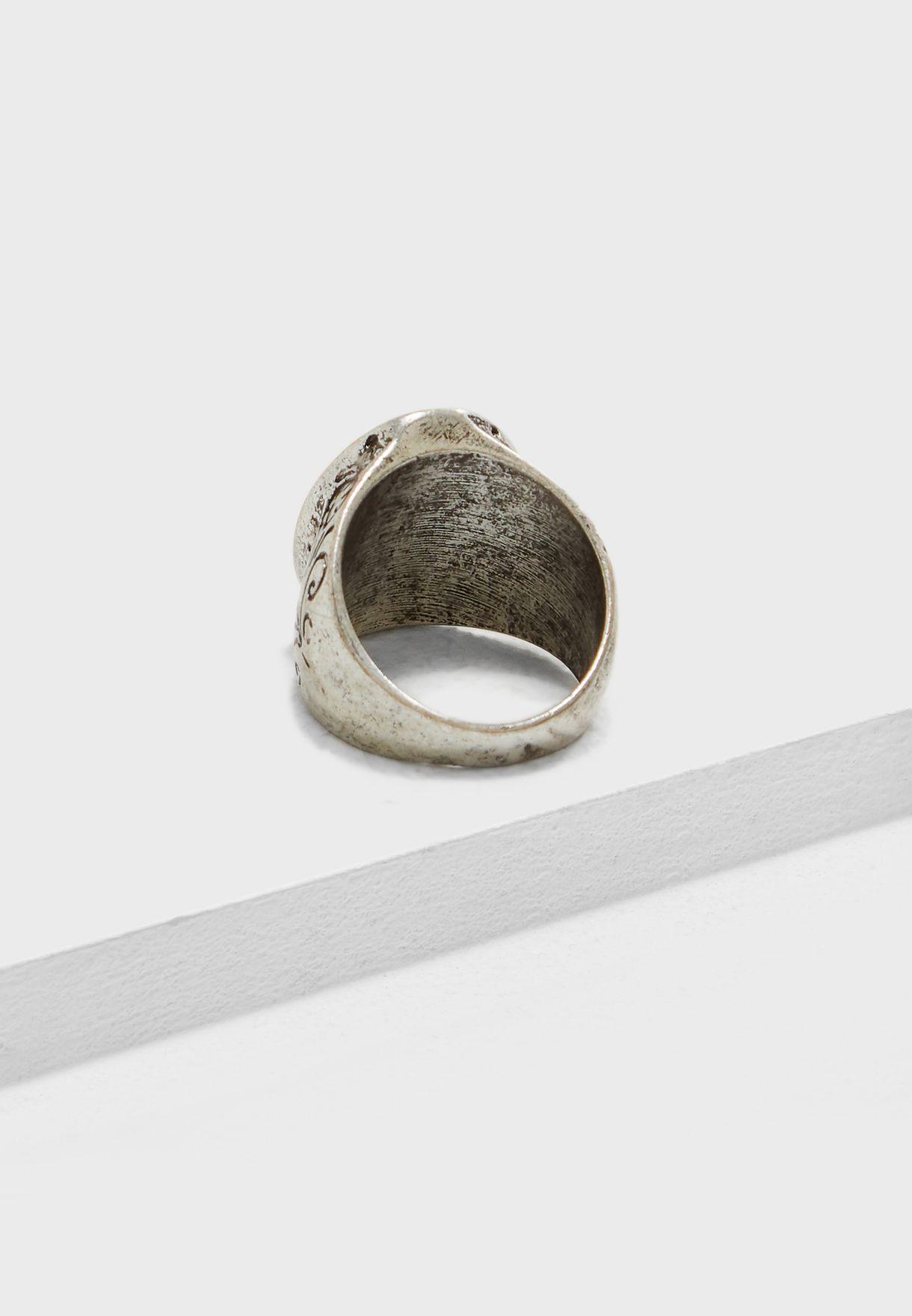 Burnished Ring