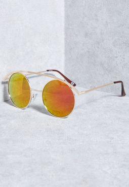 نظارة شمسية باطار دائري