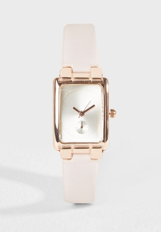 Rectangle Dial Watch