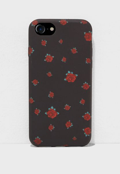 Ditsy Rose 7/8 iPhone Case