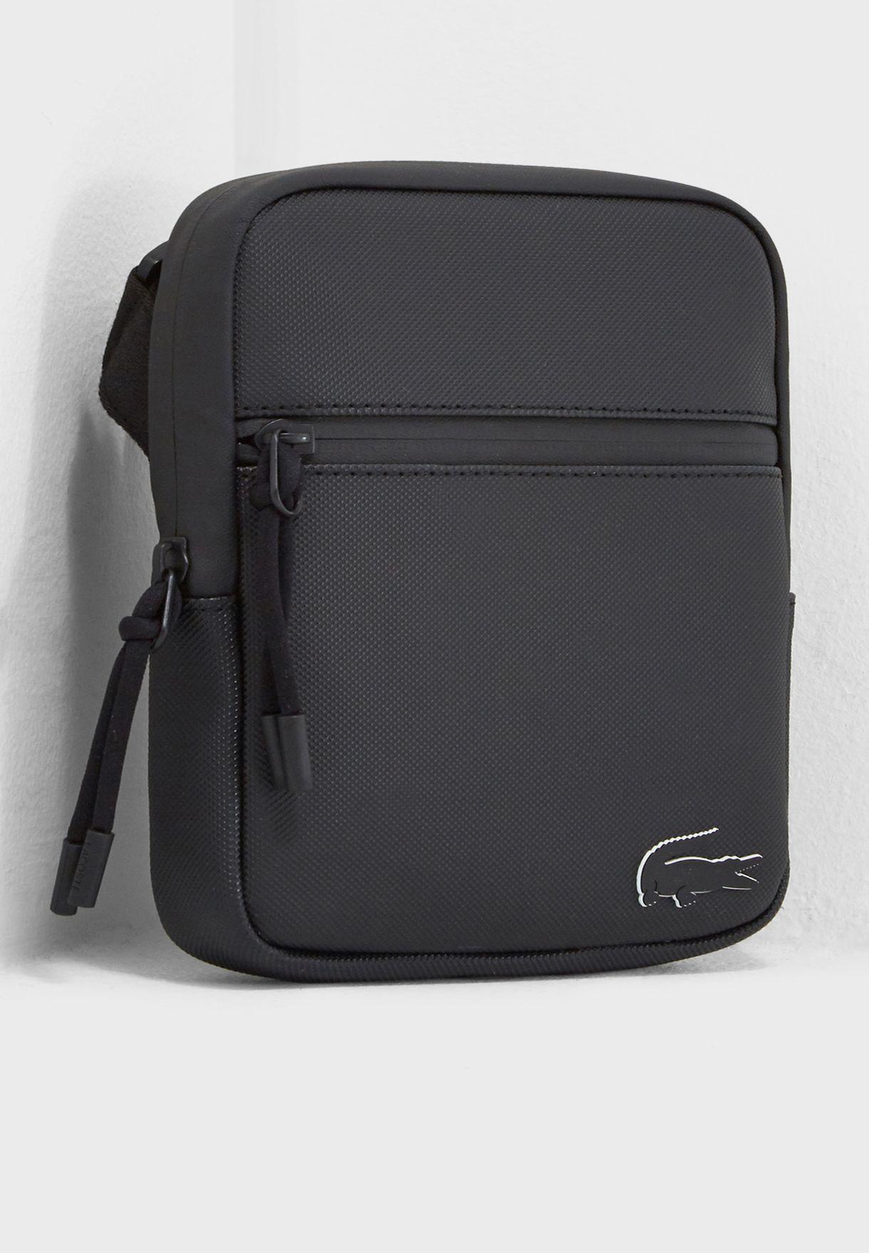 d7329aa7278 Shop Lacoste black Casual Messenger Bag NH2715PO-000 for Men in UAE ...